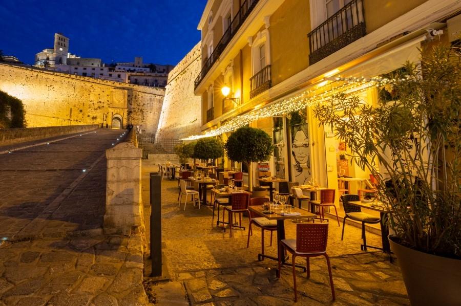 IIl Dek, alta gastronomía italiana en Ibiza