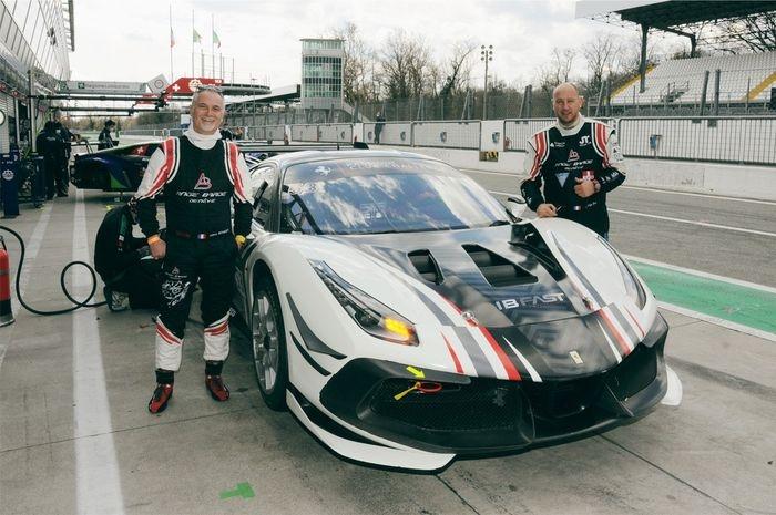 IAnge Barde Racing regresa al campeonato Ferrari Challenge