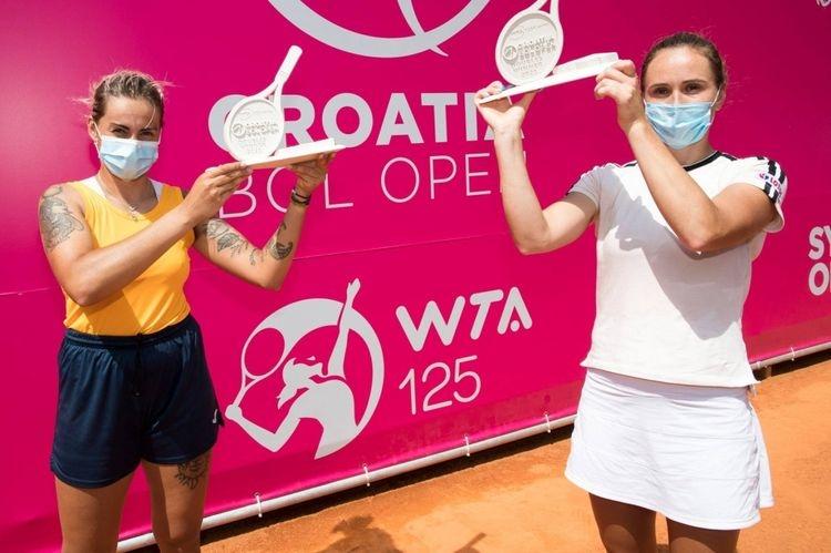 ILa española Aliona Bolsova conquista su primer título WTA de dobles en Croacia