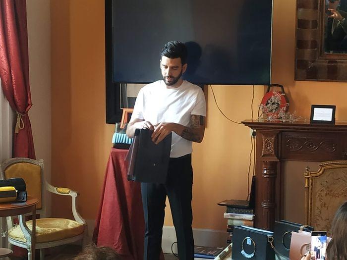 IVictor Caballero presenta colección de bolsos en Barcelona